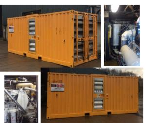 Zone 2 1050 cfm x 10 bar air compressor