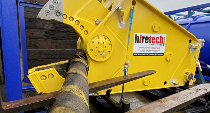 Hiretech 5 Tonne Subsea Shears Completes Trial Cuts