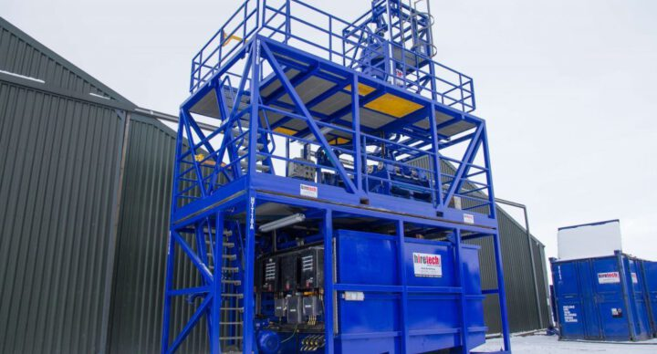 Solids Recovery System