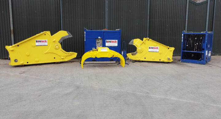 Hiretech Subsea and Decom Equipment Rental Package