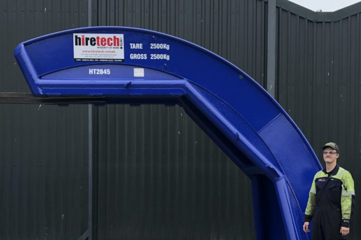 2500 mm Overboard Chute