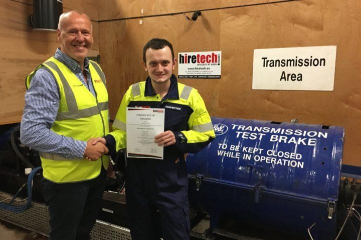 Adam Matthew Gains Apprenticeship