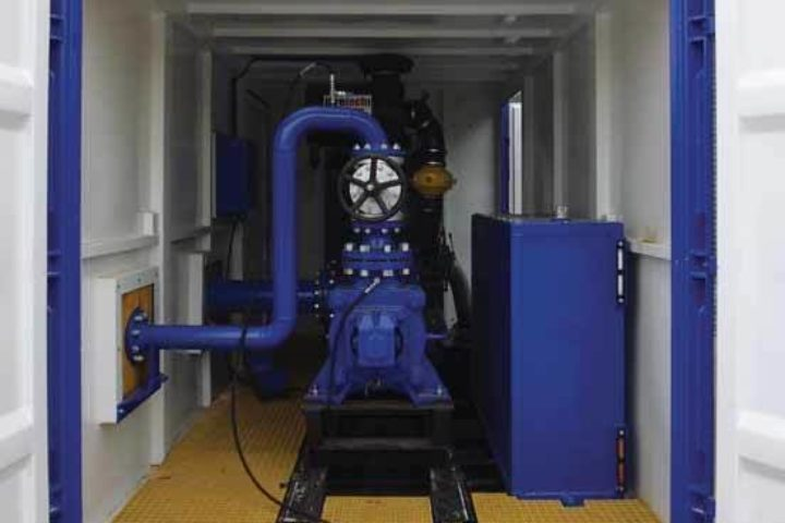 High Pressure High Flow Jetting Spread