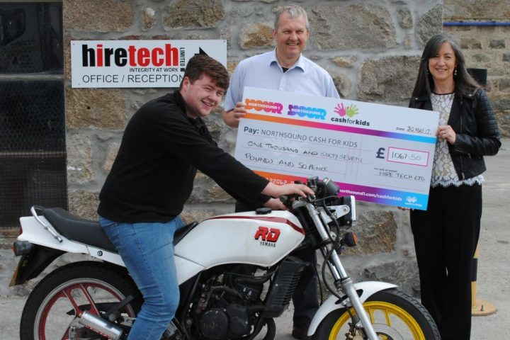 Hiretech Donates to Cash For Kids