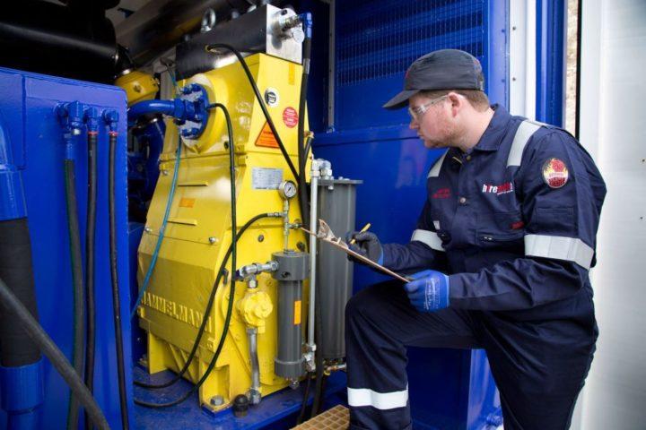 Hiretech Hammelmann Pump Launched