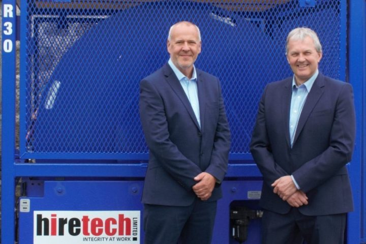 Hiretech Limited MD Keith Mackie and CEO Andy Buchan