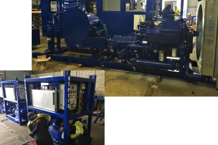 Hiretech New Build Pumps