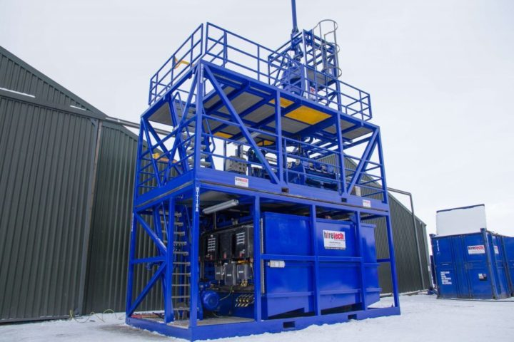 Hiretech Solids Recovery System