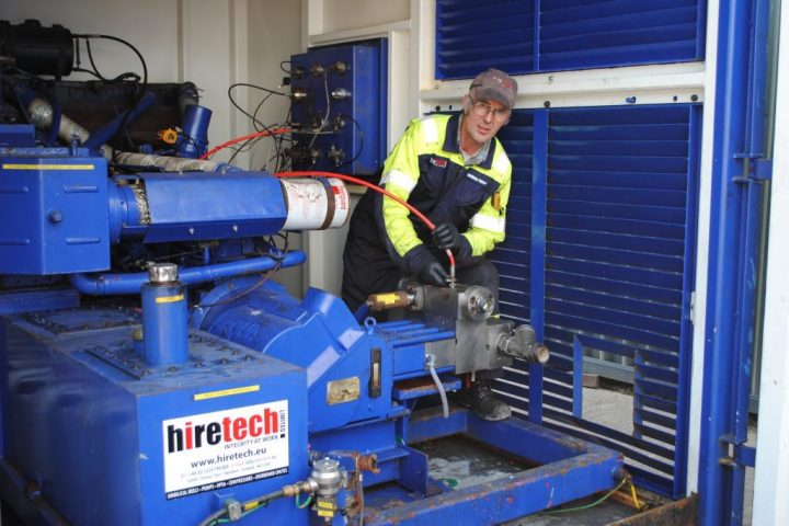 Hiretech Supports Decommissioning Projects