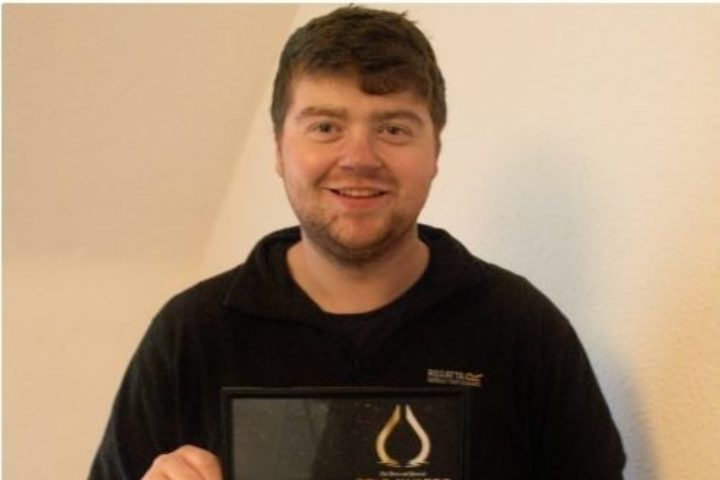 James Farquhar PJ Gold Award Winner
