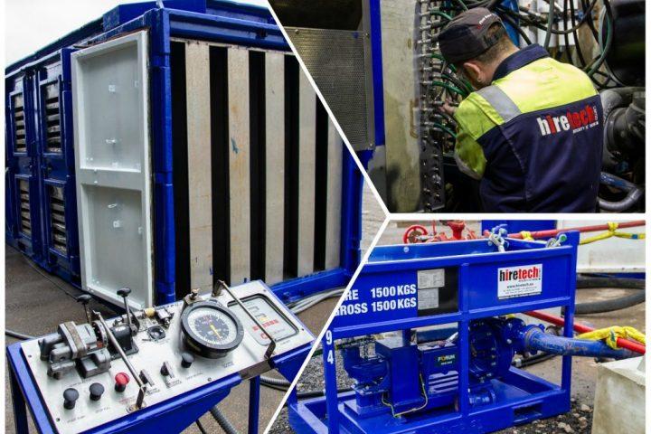 Zone 2 V16 x SPM2250 Pumping Units