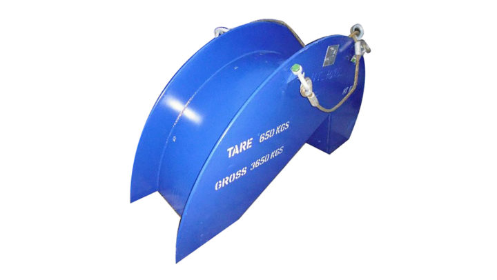 4 Inch Overboard Chute No Rollers