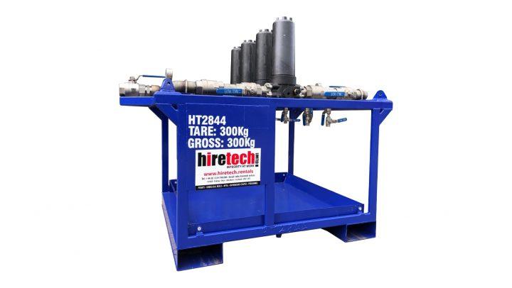 500lpm Duplex Return Oil Filtration Skid