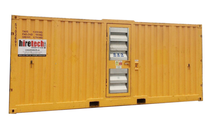 DNV 2 7 2 Containerised Zone II 1000 SCFM 10 Bar Air Compressor