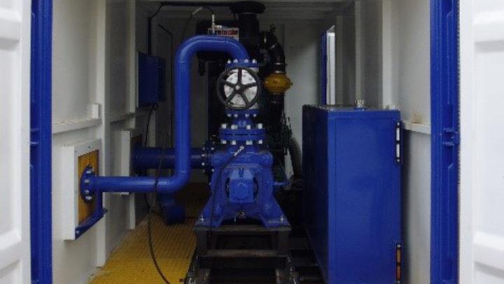 Diesel Driven Centrifugal Pump Set Volvo