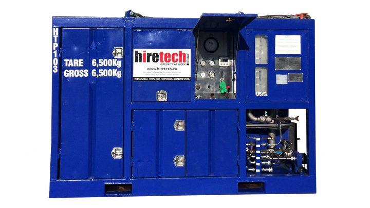 Zone 1 Electric Driven Well Service Pump Unit HTP103