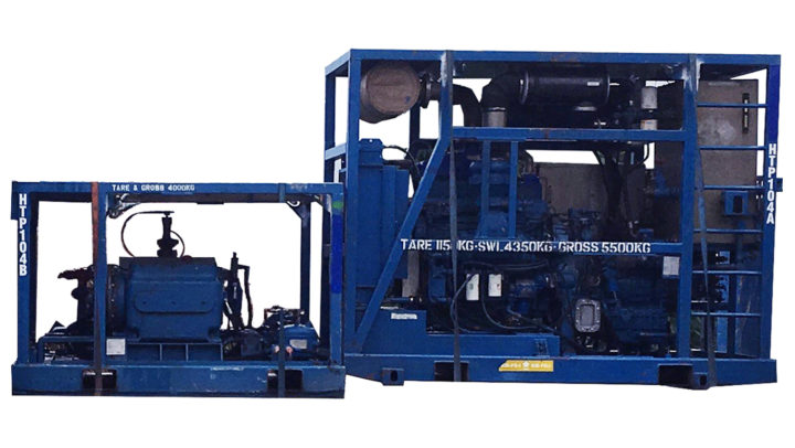 Zone 2 Detroit Inline 6-71 Diesel Driven Pump