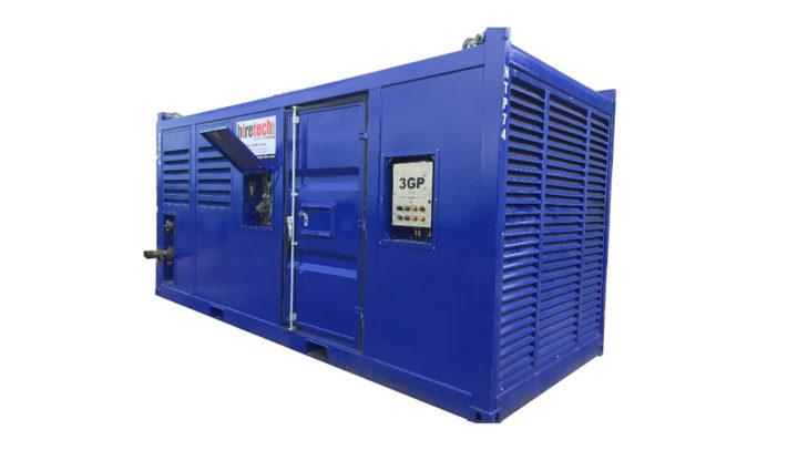 Zone 2 Diesel Driven Pump Unit Detroit 8 V92 HTP74