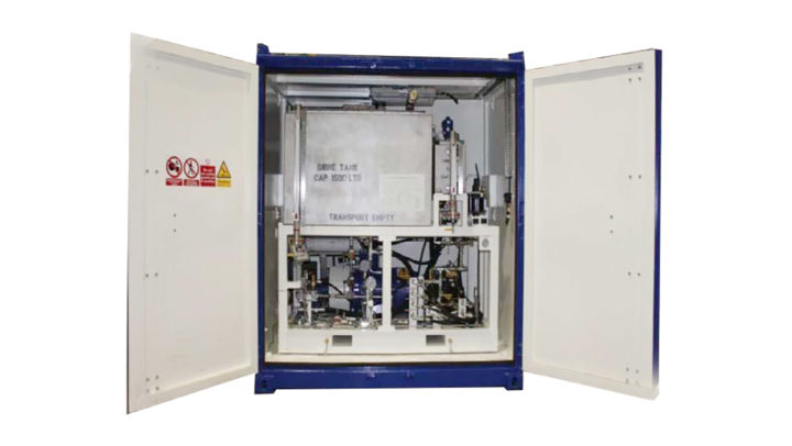 Zone 2 Electric Air Driven Containerised Pump Set