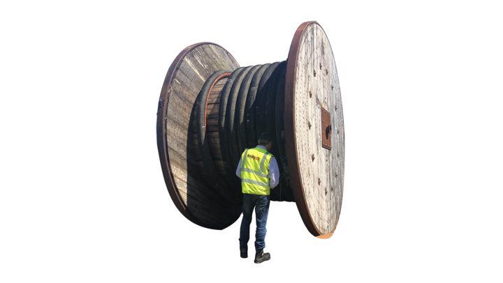 Wooden Storage Reel